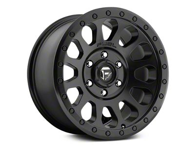 Fuel Wheels Vector Matte Black 6-Lug Wheel - 17x8.5 (07-18 Sierra 1500)