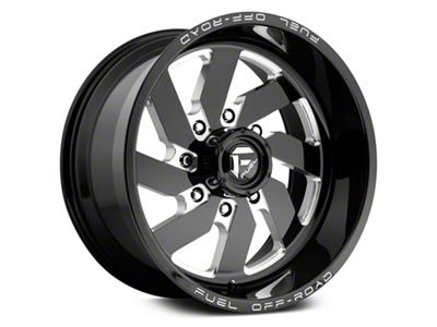 Fuel Wheels Turbo Black Milled 6-Lug Wheel - 18x9 (07-18 Sierra 1500)