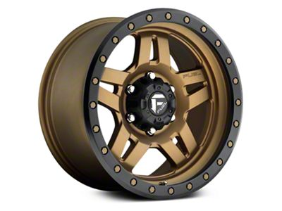 Fuel Wheels Anza Matte Bronze w/ Black Ring 6-Lug Wheel - 18x9 (07-18 Sierra 1500)