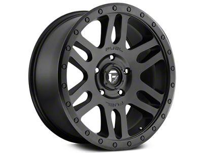 Fuel Wheels Recoil Matte Black 6-Lug Wheel - 20x9 (07-18 Sierra 1500)