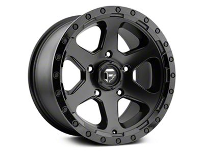 Fuel Wheels Ripper Matte Black 6-Lug Wheel - 17x9 (07-18 Sierra 1500)