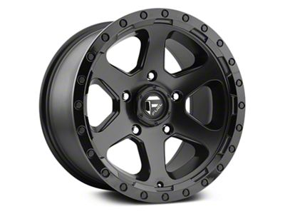 Fuel Wheels Ripper Matte Black 6-Lug Wheel - 20x9 (07-18 Sierra 1500)