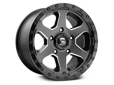 Fuel Wheels Ripper Gloss Black Milled 6-Lug Wheel - 20x9 (07-18 Sierra 1500)