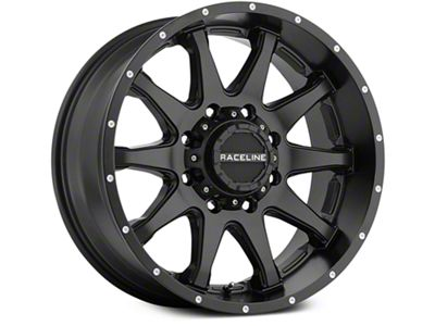 Raceline Shift Black 6-Lug Wheel - 18x9 (07-18 Sierra 1500)