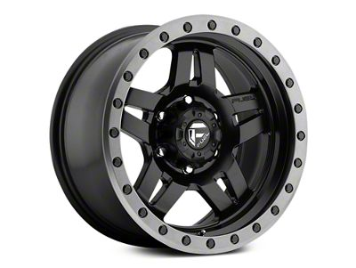 Fuel Wheels Anza Matte Black w/ Anthracite Ring 6-Lug Wheel - 17x8.5 (07-18 Sierra 1500)