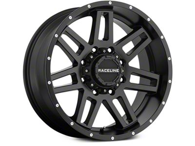 Raceline Injector Black 6-Lug Wheel - 18x9 (07-18 Sierra 1500)