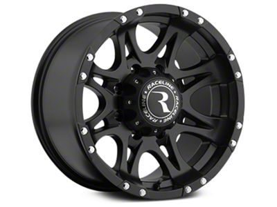 Raceline Raptor Black 6-Lug Wheel - 20x9 (07-18 Sierra 1500)