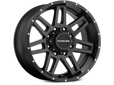 Raceline Injector Black 6-Lug Wheel - 20x9 (07-18 Sierra 1500)
