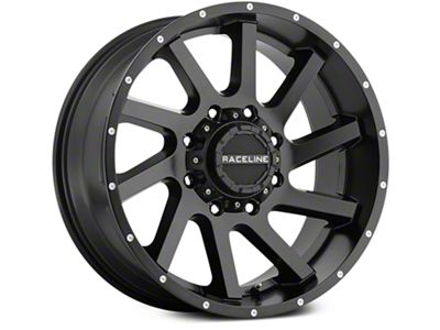 Raceline Twist Black 6-Lug Wheel - 20x9 (07-18 Sierra 1500)