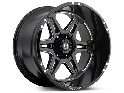 Hostile HAVOC Blade Cut 6-Lug Wheel - 20x10 (07-18 Sierra 1500)