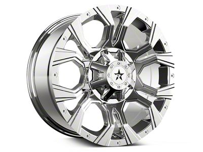 RBP 64R Widow Chrome 6-Lug Wheel - 20x10 (07-18 Sierra 1500)
