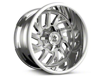 RBP 65R Glock Chrome 6-Lug Wheel - 20x10 (07-19 Sierra 1500)