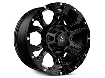 RBP 64R Widow Full Black 6-Lug Wheel - 18x9 (07-18 Sierra 1500)