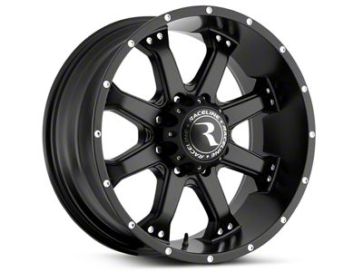 Raceline Assault Black 6-Lug Wheel - 18x9 (07-18 Sierra 1500)