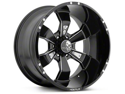Hostile Hammered Blade Cut 6-Lug Wheel - 20x9 (07-18 Sierra 1500)