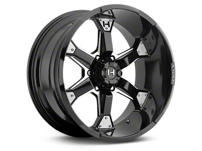 Hostile KNUCKLES Blade Cut 6-Lug Wheel - 20x9 (07-18 Sierra 1500)