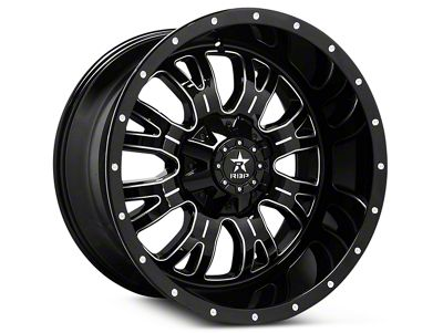RBP 89R Assassin Gloss Black Machined 6-Lug Wheel - 18x9 (07-18 Sierra 1500)