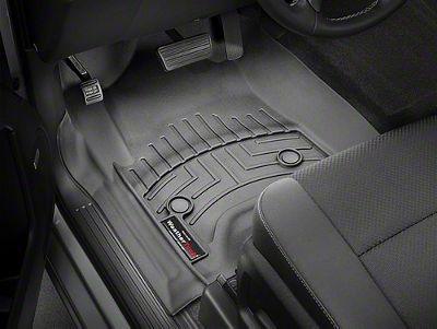 Weathertech DigitalFit Front Floor Liners - Black (14-18 Sierra 1500)