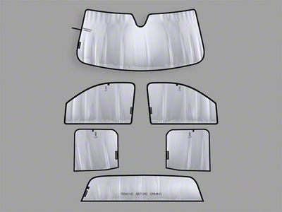 Weathertech TechShade Full Vehicle Kit (14-18 Sierra 1500)
