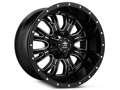RBP 89R Assassin Gloss Black Machined 6-Lug Wheel - 20x10 (07-18 Sierra 1500)