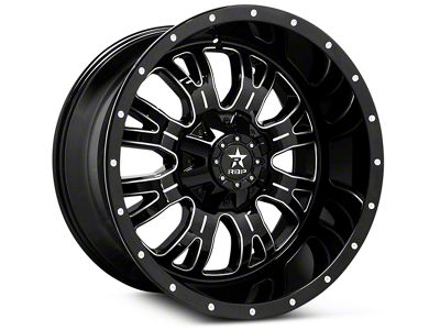 RBP 89R Assassin Gloss Black Machined 6-Lug Wheel - 20x9 (07-18 Sierra 1500)