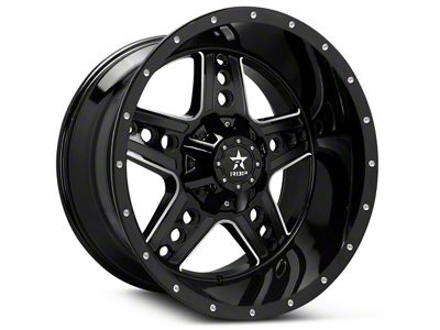 RBP 90R Colt Gloss Black Machined 6-Lug Wheel - 20x10 (07-18 Sierra 1500)