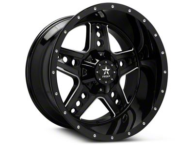 RBP 90R Colt Gloss Black Machined 6-Lug Wheel - 20x9 (07-18 Sierra 1500)