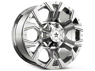 RBP 64R Widow Chrome 6-Lug Wheel - 18x9 (07-18 Sierra 1500)