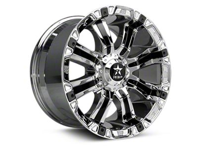 RBP 94R Chrome w/ Black Inserts 6-Lug Wheel - 20x9 (07-18 Sierra 1500)