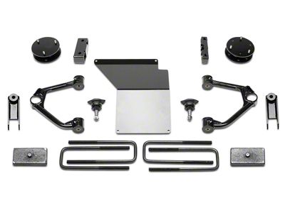 Fabtech 4 in. MagneRide Budget Lift System (14-18 2WD/4WD Sierra 1500 Denali)