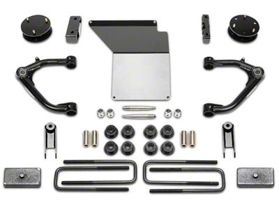 Fabtech 4 in. MagneRide Uniball Upper Control Arm System (14-18 2WD/4WD Sierra 1500 Denali)
