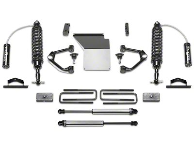 Fabtech 4 in. Budget Lift System w/ Dirt Logic Coilovers & Shocks (14-18 2WD/4WD Sierra 1500 Double Cab, Crew Cab, Excluding Denali)