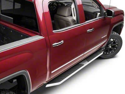 Barricade Pioneer Running Boards (14-18 Sierra 1500 Double Cab, Crew Cab)