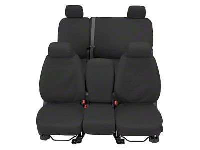 Covercraft SeatSaver Waterproof Front Row Seat Covers - Gray (07-18 Sierra 1500 w/ Bucket Seats)