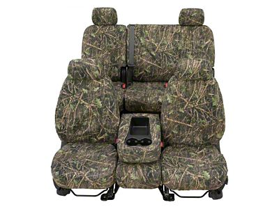 Covercraft Second Row SeatSaver Seat Cover - True Timber Conceal Green Camo (14-18 Sierra 1500 Double Cab, Crew Cab)