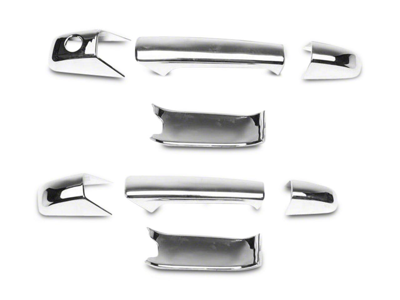 Putco Chrome Door Handle Covers w/o Passenger Keyhole (07-13 Sierra 1500)