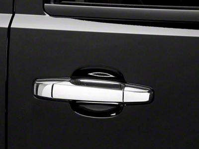 Chrome Door Handle Covers w/o Passenger Keyhole - Center Section Only (07-13 Sierra 1500)