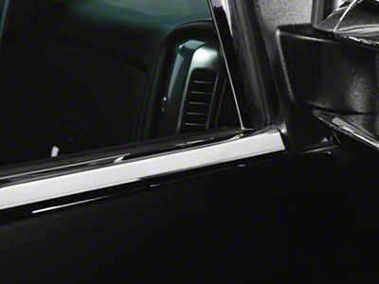 Window Trim - Chrome (14-18 Sierra 1500)