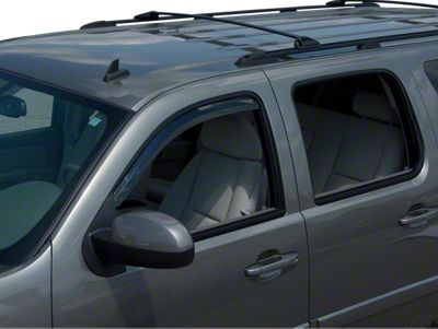 Putco Element Tinted Window Visors - Channel Mount - Fronts Only (07-13 Sierra 1500 Regular Cab, Crew Cab)