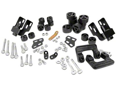 Rough Country 3.25 in. Suspension & Body Lift Kit (07-13 2WD/4WD Sierra 1500 w/ Stock Cast Steel or Aluminum Control Arms)