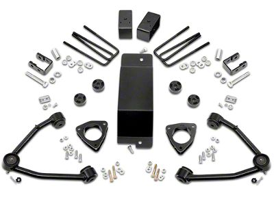 Rough Country 3.5 in. MagneRide Suspension Lift Kit (14-16 4WD Sierra 1500 Denali w/ Stock Cast Steel or Aluminum Control Arms)