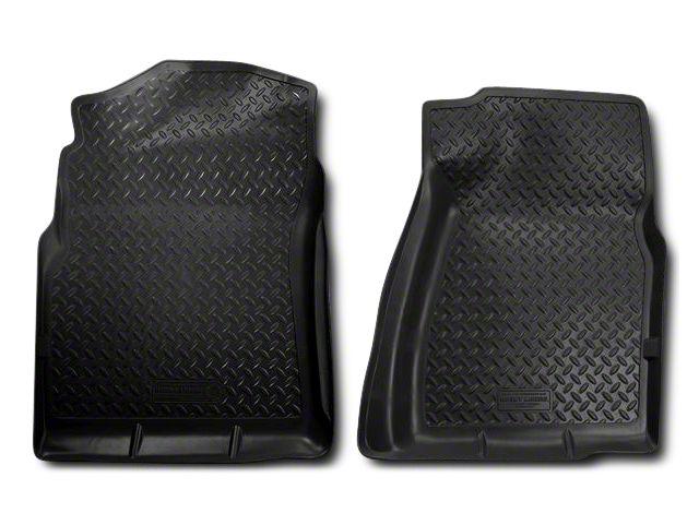 Husky Classic Front Floor Liners - Black (07-13 Sierra 1500)