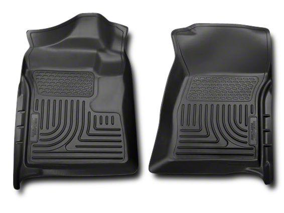 Husky WeatherBeater Front Floor Liners - Black (07-13 Sierra 1500)