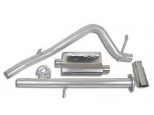 CGS Motorsports Stainless Single Exhaust System - Side Exit (07-08 4.8L Sierra 1500)