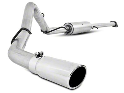 MBRP 3 in. Installer Series Single Exhaust System - Side Exit (07-13 5.3L Sierra 1500)