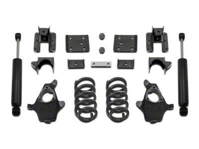 Max Trac Lowering Kit - 4 in. Front / 6 in. Rear (07-13 2WD/4WD Sierra 1500)