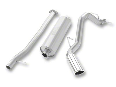 Borla Touring Single Exhaust System - Side Exit (07-13 5.3L Sierra 1500)
