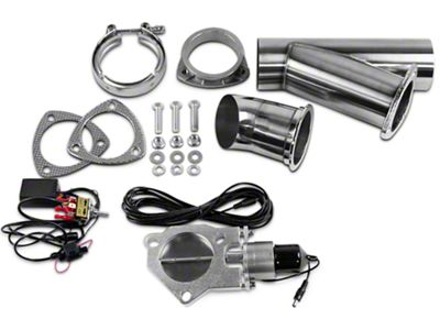 GMS Electronic Exhaust Cutout System - 4 in. (07-18 Sierra 1500)