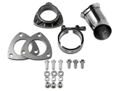 GMS Exhaust Cutout Adjustable Turn Down - 2.5 in. (07-18 Sierra 1500)