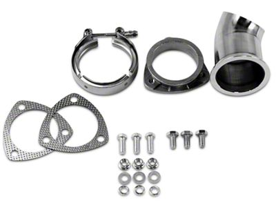 GMS Exhaust Cutout Adjustable Turn Down - 3 in. (07-18 Sierra 1500)